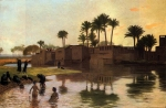 e_of_a_river.jpgJean-Leon Gerome (Jean Leon Gerome) (1824-1904) Bathers by the Edge of a River Oil on canvas Private collection