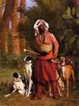 Jean-Leon Gerome (Jean Leon Gerome) (1824-1904) The Negro Master of the Hounds Oil on canvas Private collection