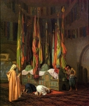 Jean-Leon Gerome (Jean Leon Gerome) (1824-1904) The Tomb of Hazrat Imam Hisain Allahis Salam Oil on canvas Private collection