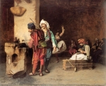 Jean-Leon Gerome (Jean Leon Gerome) (1824-1904) A Cafe in Cairo Oil on canvas, c1883 Private collection