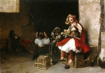 Jean-Leon Gerome (Jean Leon Gerome) (1824-1904) Bashi­Bazouk Singing Oil on canvas, 1868 66 x 46.3 cm (25.98