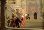 Jean-Leon Gerome (Jean Leon Gerome) (1824-1904) L'Eminence Grise Oil on canvas, 1873 98.5 x 65 cm (3' 2.78