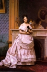 Jean-Leon Gerome (Jean Leon Gerome) (1824-1904) Portrait of a Lady Oil on canvas, c1866-c1870 36 x 54 cm (14.17