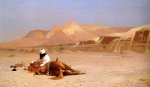 "Jean-Leon Gerome (Jean Leon Gerome) (1824-1904) The Arab and his Steed Oil on canvas, 1872 99 x 59.7 cm (3\' 2.98"" x 23½\"") Private collection"