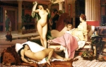 Jean-Leon Gerome (Jean Leon Gerome) (1824-1904) Greek Interior [sketch] Oil on canvas, 1848 21 x 15.5 cm (8.27