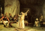"Jean-Leon Gerome (Jean Leon Gerome) (1824-1904) The Dance of the Almeh Oil on panel, 1863 63 x 84.3 cm (24.8"" x 33.19\"") Dayton Art Institute (Dayton, Ohio, United States)"