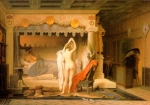 Jean-Leon Gerome (Jean Leon Gerome) (1824-1904) King Candaules Oil on canvas, 1859 99 x 67.3 cm (3' 2.98