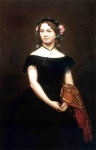 Jean-Leon Gerome (Jean Leon Gerome) (1824-1904) Portrait of Mlle Durand Oil on canvas, 1853 87 x 127 cm (34¼