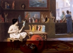 Jean-Leon Gerome (Jean Leon Gerome) (1824-1904) Painting Breathes Life into Sculpture Oil on canvas, 1893 Art Gallery of Ontario (Toronto, Canada)