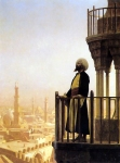 Jean-Leon Gerome (Jean Leon Gerome) (1824-1904) The Muezzin Oil on canvas, 1866 64.5 x 81 cm (25.39