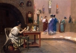 Jean-Leon Gerome (Jean Leon Gerome) (1824-1904) Painting Breathes Life into Sculpture Oil on canvas, c1893 Private collection