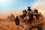 "Jean-Leon Gerome (Jean Leon Gerome) (1824-1904) Bonaparte et son armée en Egypte Oil on canvas, 1867 88.2 x 58.4 cm (34.72"" x 22.99\"") Private collection"