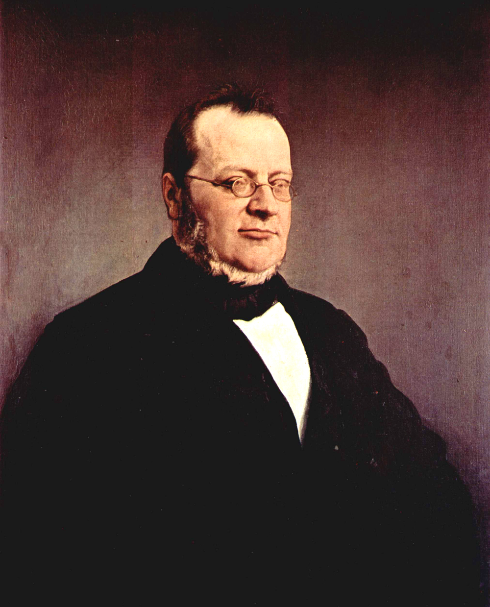 Francesco Hayez (1791-1882)  Portrait of Camillo Benso di Cavour   Oil on canvas, 1864  79 × 64 cm (31.1 × 25.1 in)  Pinacoteca di Brera, Milan, Italy