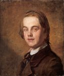 William Holman Hunt (1827-1910)  Self-Portrait, 1845  Oil on canvas  39.3 x 45.7 cm (15.47