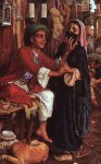William Holman Hunt (1827-1910)  The Lantern Maker's Courtship  Oil on canvas  1854  Private collection