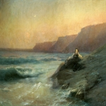 Ivan Konstantinovich Aivazovsky (1817 - 1900) Pushkin on the Black Sea coast Oil on canvas, 1887 212 x 314 cm 83.46