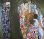 Gustav Klimt (July 14, 1862 � February 6, 1918) Death and Life Oil on canvas, 1916