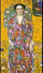 Gustav Klimt (July 14, 1862 � February 6, 1918) Eugenia Primavesi Oil on canvas, 1914