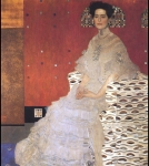 Gustav Klimt (July 14, 1862 � February 6, 1918) Fritza Riedler Oil on canvas, 1906 153 × 133 cm The Österreichische Galerie Belveder, Belvedere palace, in Vienna, Austria6.jpg
