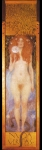 Gustav Klimt (July 14, 1862  February 6, 1918) Nuda Veritas Oil on canvas, 1899 252 x 56,2 cm &amp;#214;sterreichisches Theatermuseum, Vienna, Austria