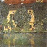 Gustav Klimt (July 14, 1862  February 6, 1918) Schloss Kammer Attersee III Oil on canvas, 1910 110 &amp;#215; 110 cm The &amp;#214;sterreichische Galerie Belvedere, Belvedere palace, Vienna, Austria