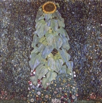 Gustav Klimt (July 14, 1862 � February 6, 1918) Sunflower Oil on canvas, 1907
