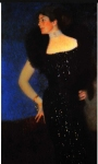 Gustav Klimt (July 14, 1862  February 6, 1918) Portrait of Rose von Rosthorn-Friedmann Oil on canvas, 1900 140 &amp;#215; 80 cm (55.1 &amp;#215; 31.5 in) Private collection