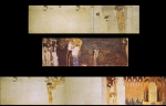 Gustav Klimt (July 14, 1862  February 6, 1918) Beethoven Frieze Oil on canvas, 1902