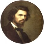 Ivan Nikolaevich Kramskoi (1837 - 1887)   Self-Portrait  Oil on canvas, 1867  52 x 44 Г±Г¬  The Tretyakov Gallery, Moscow, Russia