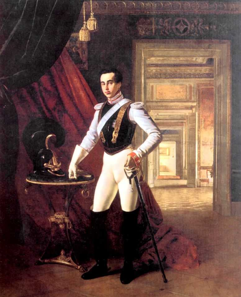 Orest Adamovich Kiprenskii (1778-1836)  Portrait of Count Dmitri Nikolaevich Sheremetev  Oil on canvas, 1824  The State Historical Museum in Moscow, Russia