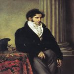 Orest Adamovich Kiprenskii (1778-1836)  Portrait of Sergey Semionovich Uvarov  Oil on canvas, 1816  117.3 x 90.8 cm  The Tretyakov Gallery in Moscow, Russia