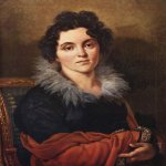 Orest Adamovich Kiprenskii (1778-1836)  Portrait D.N. Hvostova, 1814  Oil on canvas  71 x 57,8 cm  The Tretyakov Gallery in Moscow, Russia