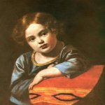 Orest Adamovich Kiprenskiy (1778-1836) Portrait of E.G. Gagarin in childhood, 1816-17 Оil on canvas Private collection AV Mamonov, France