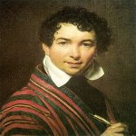 Orest Adamovich Kiprenskii (1778-1836)  Self Portrait  Oil on canvas, 1828  The Tretyakov Gallery in Moscow, Russia