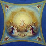 Nikolaj Andreevich  Koshelev (1840-1918)   Lord Almighty  Sketch mural in the church of Christ the Savior  Oil on canvas, 1871  The Nizhny Novgorod Art Museum, Nizhny Novgorod, Russia