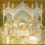 Ambrogio Lorenzetti (Siena, about 1290 - Siena, 1348)  Martyrdom of the Franciscans  Fresco (detached), 1336-1340  Church of San Francesco, Siena, Italy