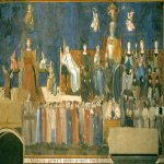 Ambrogio Lorenzetti (Siena, about 1290 - Siena, 1348)  Allegory of Good Government  Fresco, 1338-1339  Palazzo Publico, Sala dei Nove, Siena, Italy