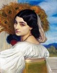 Lord Frederick Leighton (1830-1896) Pavonia Oil on canvas, 1858-1859 41.5 x 53 cm (16.34