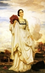 "Lord Frederick Leighton (1830-1896) The Countess Brownlow Oil on canvas, c1879 132 x 233.5 cm (4\' 3.97"" x 7\' 7.93\"") Nelton House (United Kingdom)"
