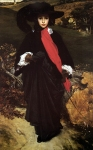 Lord Frederick Leighton (1830-1896) May Sartoris Oil on canvas, c1860 90.2 x 152.1 cm (35.51
