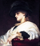 Lord Frederick Leighton (1830-1896) Phoebe Oil on canvas 60.96 x 55.88 cm (24