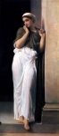 Lord Frederick Leighton (1830-1896) Nausicaa Oil on canvas, c1878 67 x 145 cm (26.38\&quot; x 4\&#039; 9.09\&quot;) Private collection
