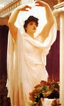 Lord Frederick Leighton (1830-1896) Invocation Oil on canvas Private collection
