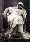 "Lord Frederick Leighton (1830-1896) Faticida Oil on canvas, c1894 109 x 152.5 cm (3\' 6.91"" x 5\') Lady Lever Art Gallery (Merseyside, United Kingdom)"
