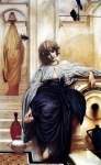 Lord Frederick Leighton (1830-1896) Lieder Ohne Worte Oil on canvas, c1860-c1861 Private collection