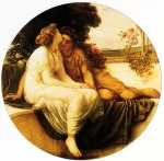 Lord Frederick Leighton (1830-1896) Acme and Septimus Oil on canvas, c1868 Private collection