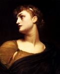 "Lord Frederick Leighton (1830-1896) Antigone Oil on canvas 50.8 x 61 cm (20"" x 24.02\"") Private collection"