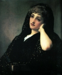 Lord Frederick Leighton (1830-1896) Memories Oil on canvas, c1883 64.5 x 76 cm (25.39
