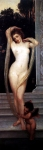 Lord Frederick Leighton (1830-1896) A Bather Oil on canvas Private collection