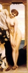Lord Frederick Leighton (1830-1896) Venus Disrobing for the Bath Oil on canvas, 1866-1867 Private collection